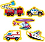 208 x Rescue Vehicle Stickers for Chi...