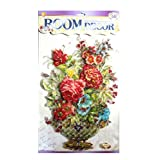 Asianhobbycrafts Colourful Themed 3D Layered Pop Up Adhesive Flower Design Room Decor Wall Sticker: 1 Pc - B01CA2E060
