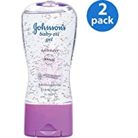 Johnson\'s - Lavender Baby Oil Gel, 6.5 oz, 2-Pac from Johnson & Johnson
