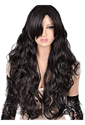 L-email Long Colors Wavy Women Fashion Hair Wigs