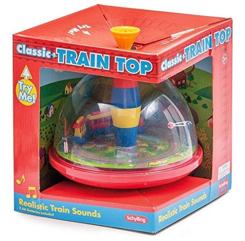 SCHYLLING SC-TTP elettronica treno gioco con treno in movimento che fa rumore quando il piano è pompaggio