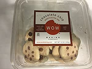 WOW Baking Company Gluten Free Cookies Tub - Chocolate Chip - 12 oz