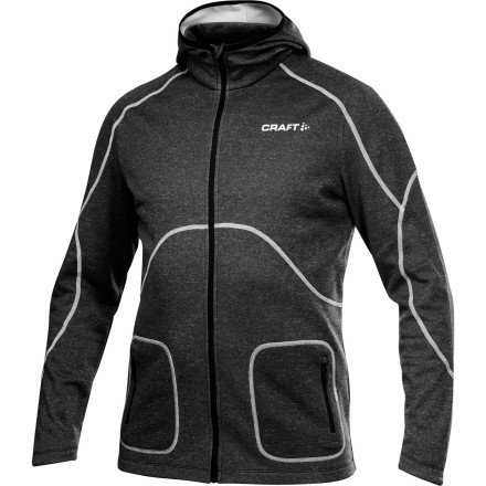 Buy Low Price Craft Men's Active Full Zip Hood (B008V5W0EK)