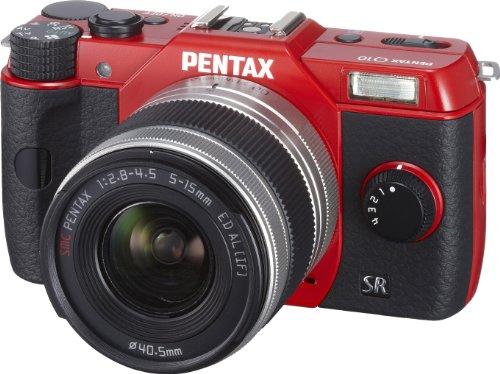 PENTAX ミラーレス一眼 Q10 ズームレンズキット [標準ズーム 02 STANDARD ZOOM] レッド Q10 LENSKIT RED 12197