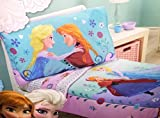 Disney- Frozen 4 Piece Toddler Bedding Set