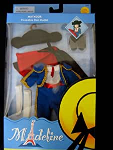"""Madeline 8"""" Pepito Doll Matador Outfit"""