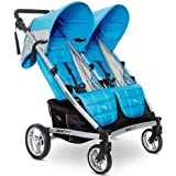 Valco Baby 2013 Zee Two Double Stroller, Cloudless, 0 Plus Months (Discontinued by Manufacturer)