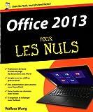 echange, troc Wallace WANG - Office 2013 Pour les Nuls