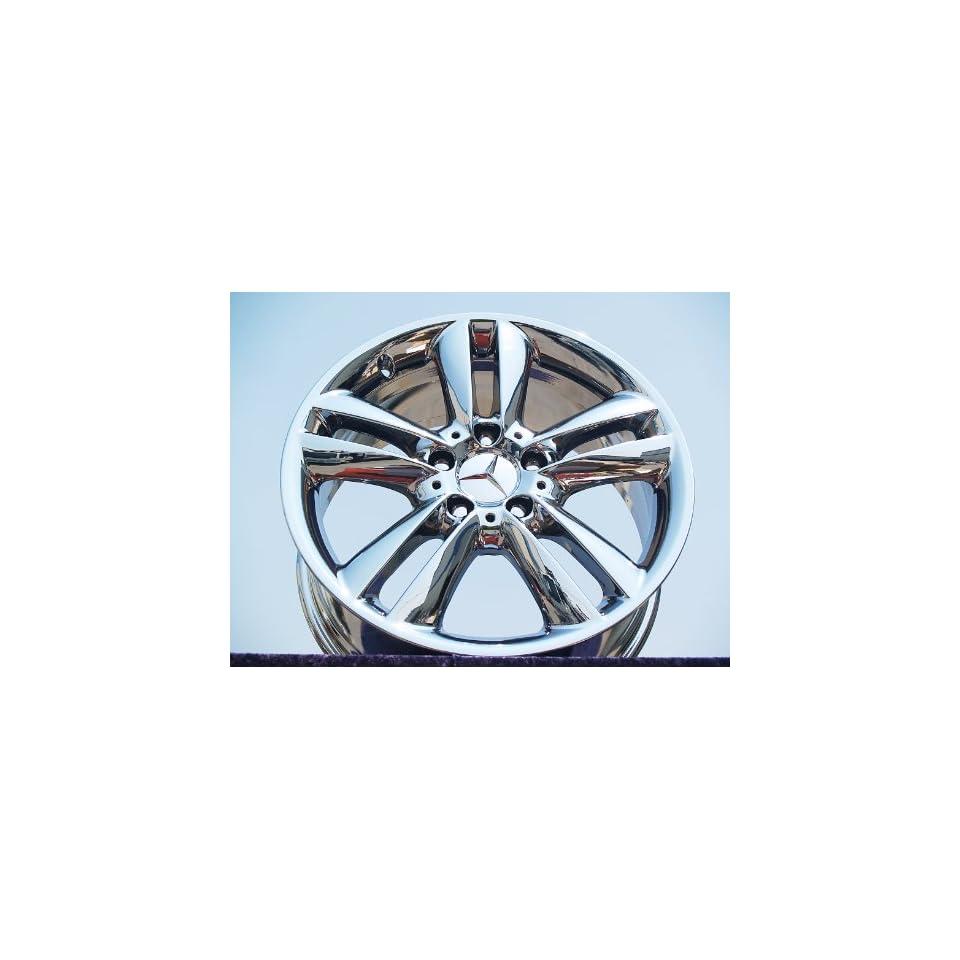 Mercedes Benz CLK350 Set of 4 genuine factory 17inch chrome wheels