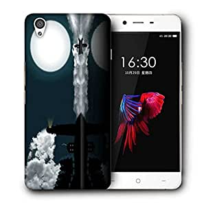 Snoogg Light House Printed Protective Phone Back Case Cover For OnePlus X / 1+X