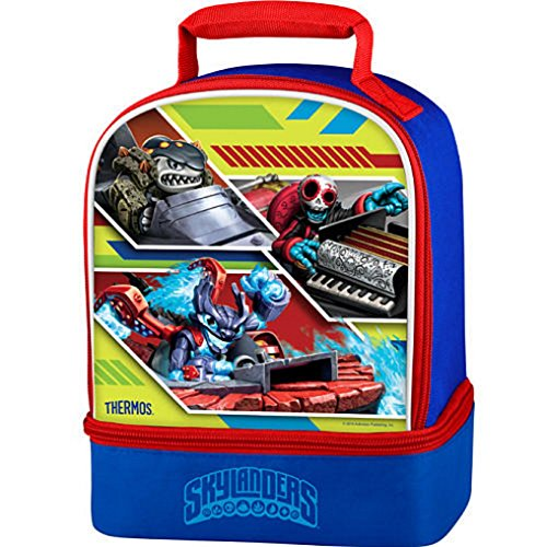 Skylanders Dual Compartment Insulated Lunch Bag