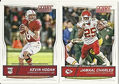 2016 Panini Score Football Kansas City Chiefs Team Set 13 Cards W/Rookies