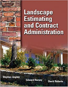 landscape estimating and contract administration stephen angley