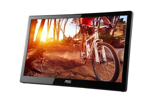 Aoc E1659Fwu 16-Inch Usb-Powered Portable Lcd Monitor (Latest Version) Pc, Personal Computer