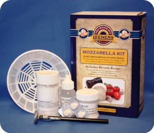 Mozzarella & Ricotta Cheese Kit