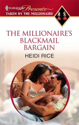 Image of The Millionaire's Blackmail Bargain