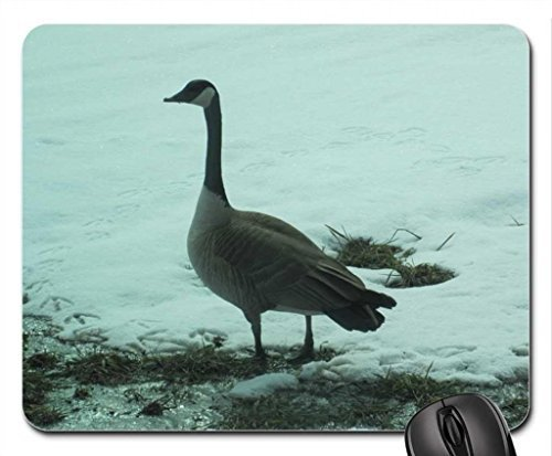 geese-on-snow-mouse-pad-mousepad-winter-mouse-pad