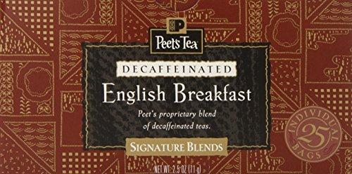 Peet'S Coffee & Tea Decaf English Breakfast Tea, 25 Count (Pack Of 6)