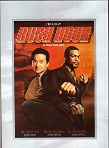 Rush Hour Trilogy : Rush Hour 1 , Rush Hour 2 , Rush Hour 3 : SET
