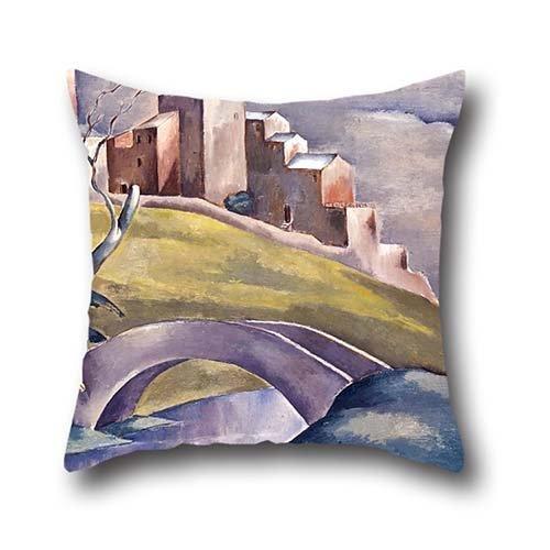pillowcase-of-oil-painting-eugeniusz-zak-krajobraz-z-figur-ludzk-pejza-z-wtmdrowcemfor-chairteens-bo