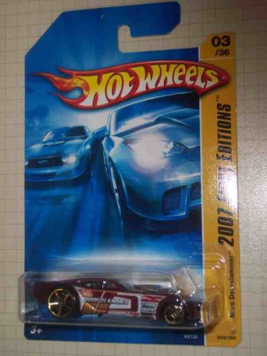 2007 New Models #3 Nitro Doorslammer #2007-03 Collectible Collector Car Mattel Hot Wheels 1:64 Scale - 1