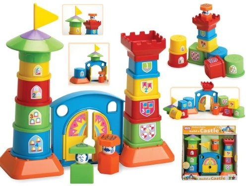 Build a Castle Stacking Nesting Building Learning Toy Gift Set by Funtime - 1
