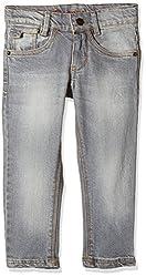 UFO Boys' Jeans (AW-16-DF-BKT-276_Grey_14 - 15 years)