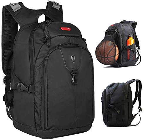 Expandable Laptop Backpack with iPad/Surface Sleeve Fits MacBook Pro