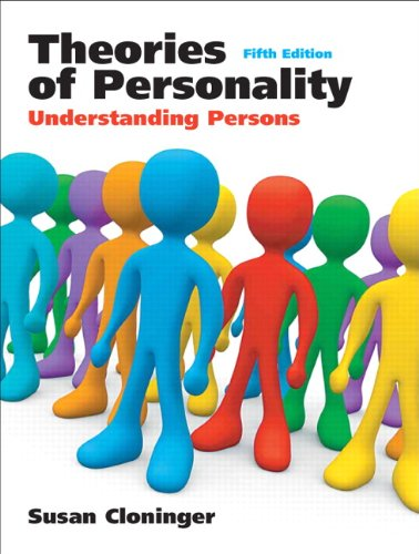 Theories of Personality:Understanding Persons: United States Edition