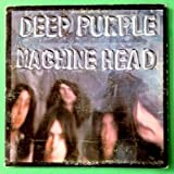 DEEP PURPLE Machine Head LP Vinyl VG+ GF w/poster 1972 BS 2607 1st Press (Green)