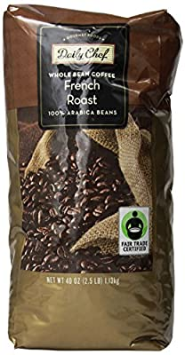 Daily Chef Whole Bean French Roast Coffee 2.5 lb.