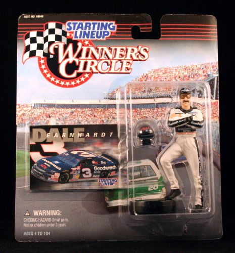 DALE EARNHARDT GOODWRENCH 1998 Winners Circle Starting Line NASCAR Series Action Figure Exclusive Collector Trading Card