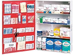 4 Shelf First Aid Refill Kit Save Time And Money by Medi-First