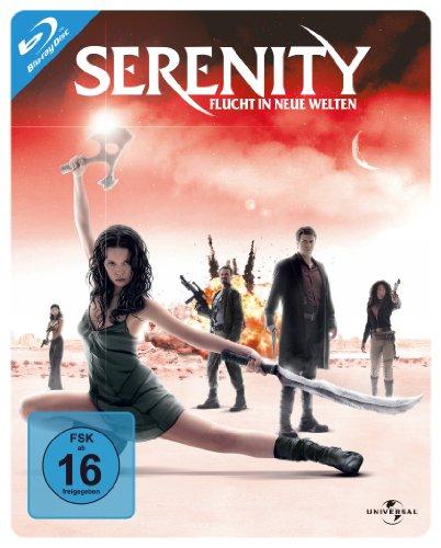 Serenity - Flucht in neue Welten - Steelbook [Blu-ray]