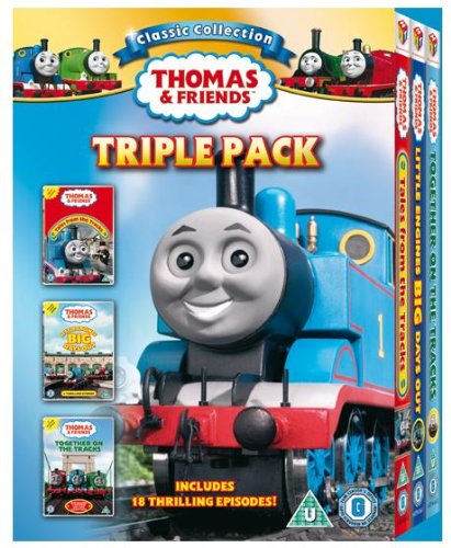 Thomas And Friends - Tales From Tracks / Little Engines, Big Day / Together On Tracks [DVD] [2010]
