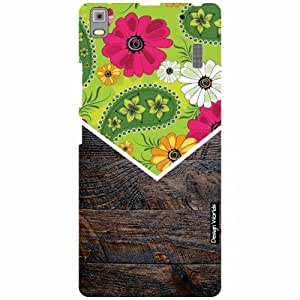 Design Worlds Lenovo A7000 PA030023IN Back Cover - Wood Designer Case and Covers