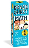 Brain Quest  Math Basics Grade 1: 750 Questions & and Answers to Build Math Smarts, Ages 6-7