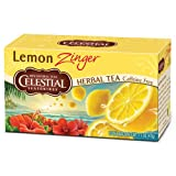 Celestial Seasonings Lemon Zinger Herb Tea, 20 bags