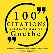 100 citations de Goethe | Johann Wolfgang von Goethe