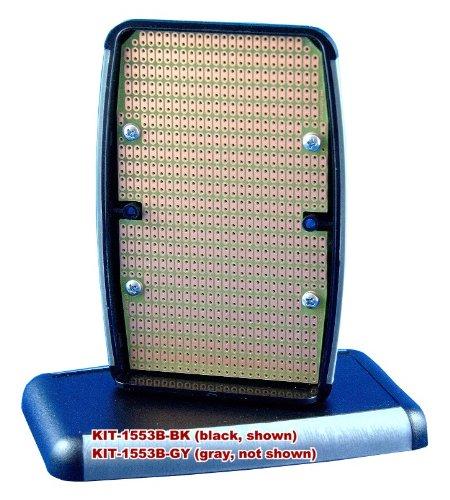 Kit-1553B Box+Pcb, Black Handheld Soft Sided Plastic Box, With Pr1553B Pcb, Box = 4.6 X 3.1 X 1.0 In