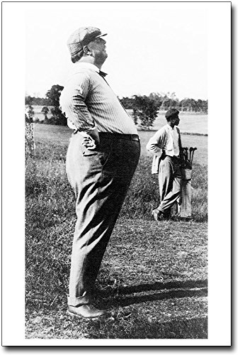 President William Howard Taft Golf Profile 8x12 Silver Halide Photo Print (William Howard Taft Profiles Of compare prices)