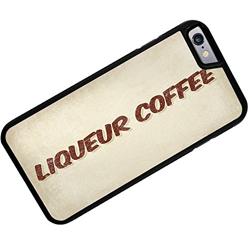 Rubber Case For Iphone 6 Liqueur Coffee, Vintage Style - Neonblond