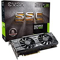 EVGA GeForce GTX 1060 3GB SSC GAMING ACX 3.0 GDDR5 LED Support Graphic Card + NVIDIA GIFT