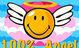 3X5 Rug Happy Face Smiley Angel Faces Fun Rug Kids Play Time Size 39\