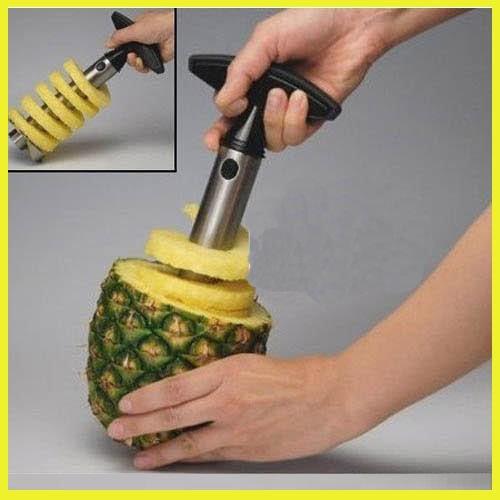 Easygoby Fruit Pineapple Corer Slicer Peeler Cutter Parer Knife Kitchen Tool Stainless