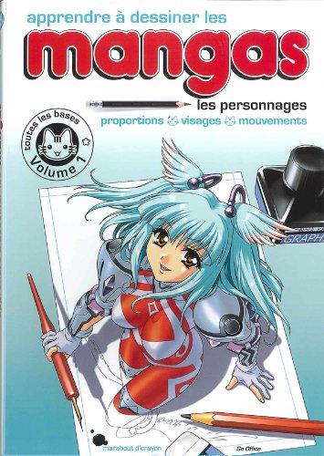 Apprendre--dessiner-les-mangas-Vol-1