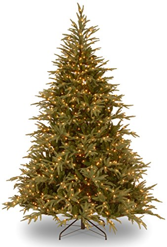 National-Tree-Feel-Real-Frasier-Grande-Hinged-Tree-with-1500-Dual-LED-Lights-9-Feet