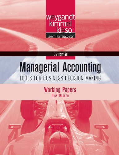 decision making in managerial accounting essay Classification of decisions from the descriptive model of the basic features and assumptions of the management accounting perspective of business, it is easy to recognize that decision-making is the focal point of management accounting.