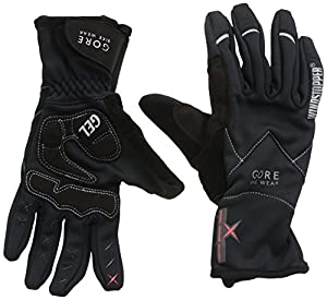 Gore Bike Wear Women's Alp-X 2.0 Soft Shell Windstopper   Lady Gloves, Black, XX-Small