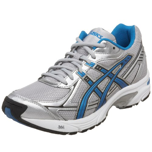 ASICS Mens GEL 150 TR Cross Training Shoe,Silver/Blue/Black,10 D US